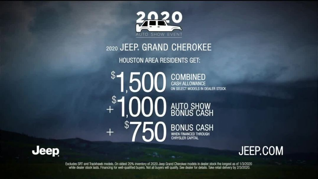 Jeep 2020 Auto Show Event TV Commercial Ad, Roads Are Bad out There Rain Song by Sam Tinnesz.mp4