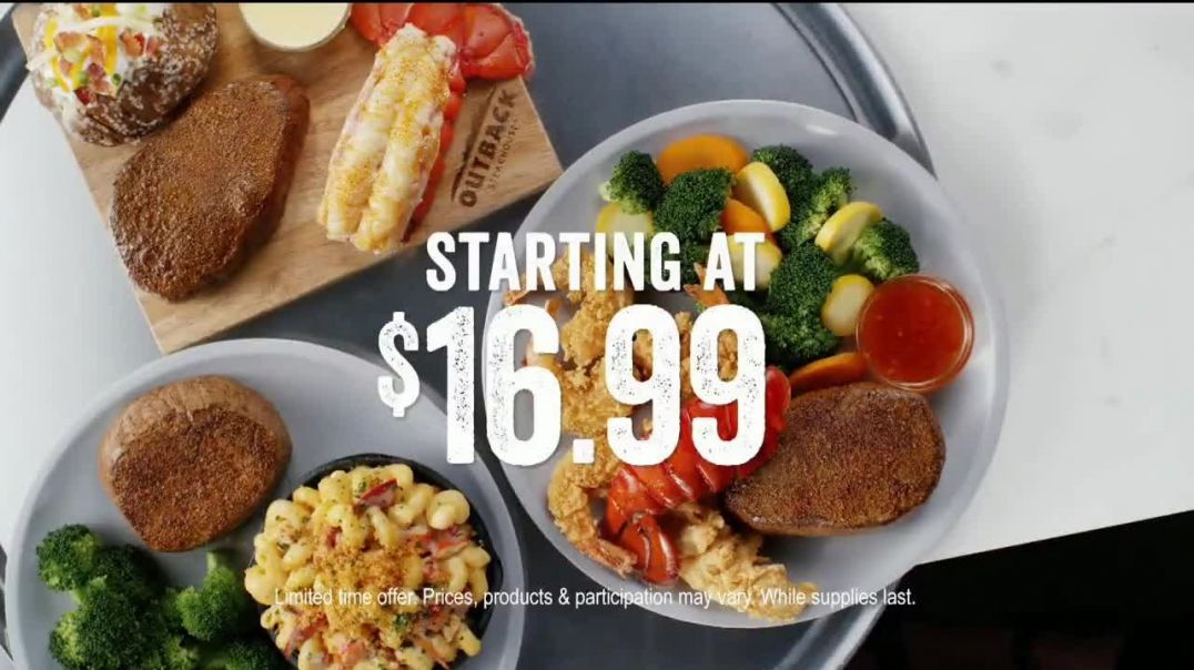Outback Steakhouse Steak & Lobster TV Commercial Ad, Steak & Lobster Is Back