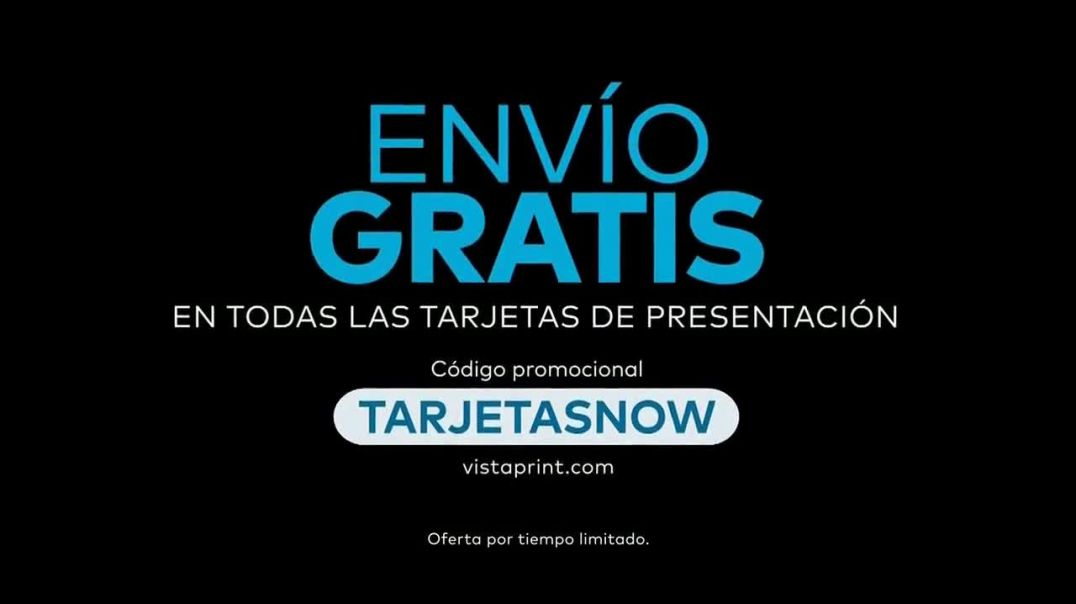 Vistaprint TV Commercial Ad, Own The Now tarjetas de presentación 2020 canción de Norm.mp4