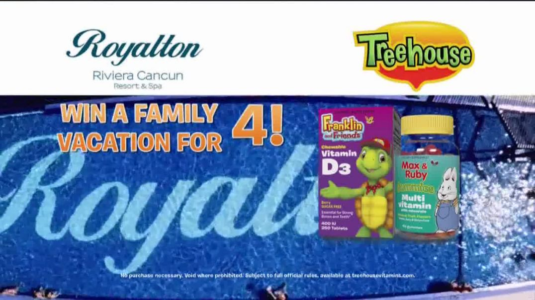 Treehouse Kids Supplements Sweepstakes TV Commercial Ad, Family Vacation.mp4