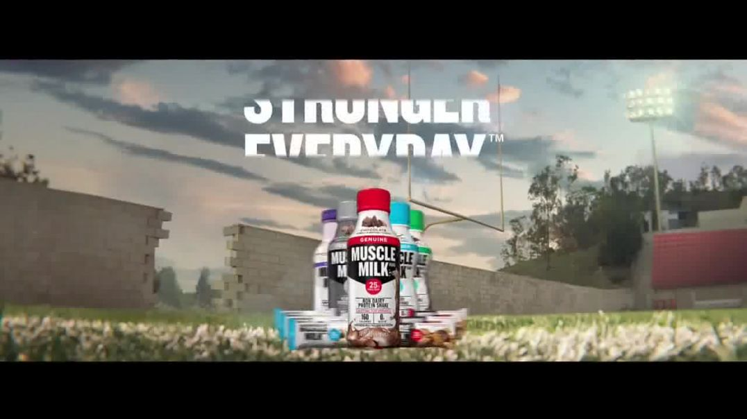 Cytosport Muscle Milk TV Commercial Ad, Lean On Me Featuring Clay Matthews.mp4