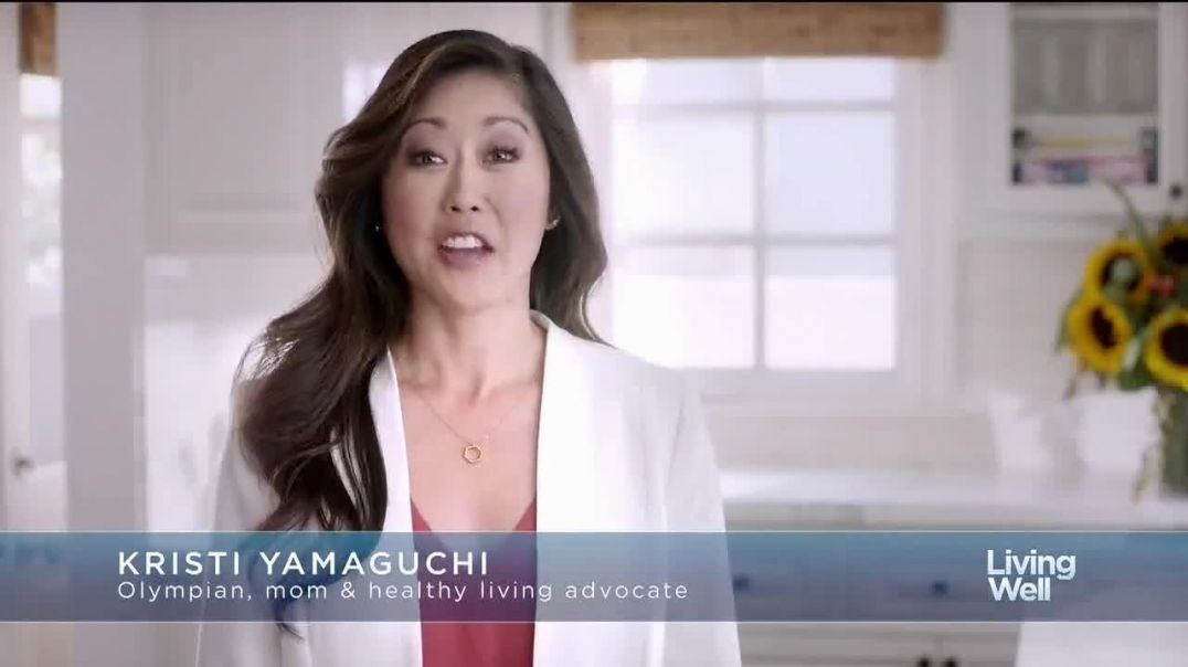 Airborne TV Commercial Ad, Living Well Feat. Kristi Yamaguchi.mp4