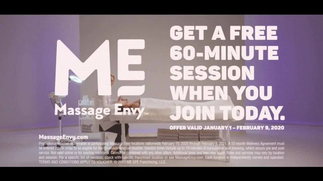 Massage Envy TV Commercial Ad, Facial Featuring Arturo Castro.mp4