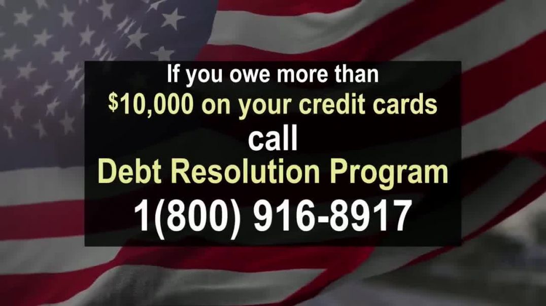 Debt Resolution Program TV Commercial Ad, Special Announcements Credit Card Debt.mp4