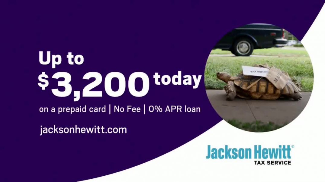 Jackson Hewitt TV Commercial Ad, Turtle Refund Advance.mp4