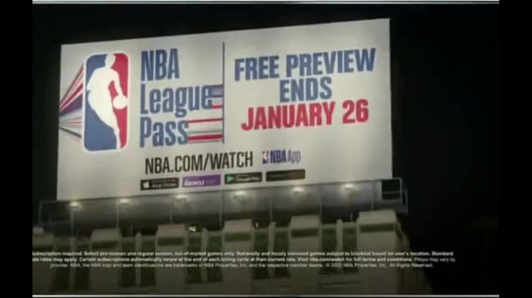 NBA League Pass TV Commercial Ad, Shout It Free Preview.mp4