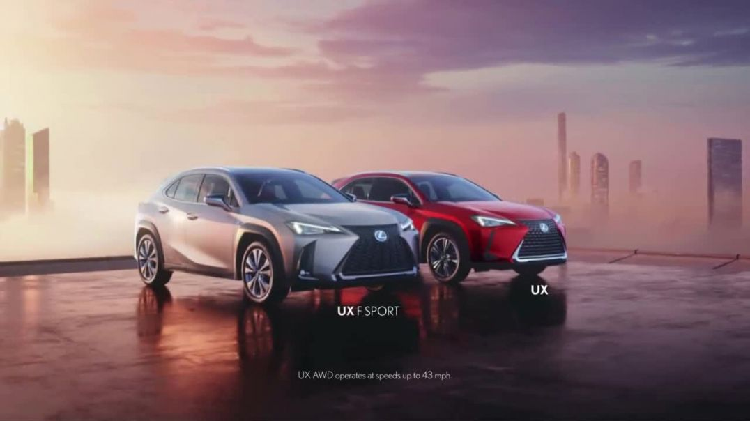 Lexus UX TV Commercial Ad, A Different Frontier Song by KRANE, Jupe.mp4