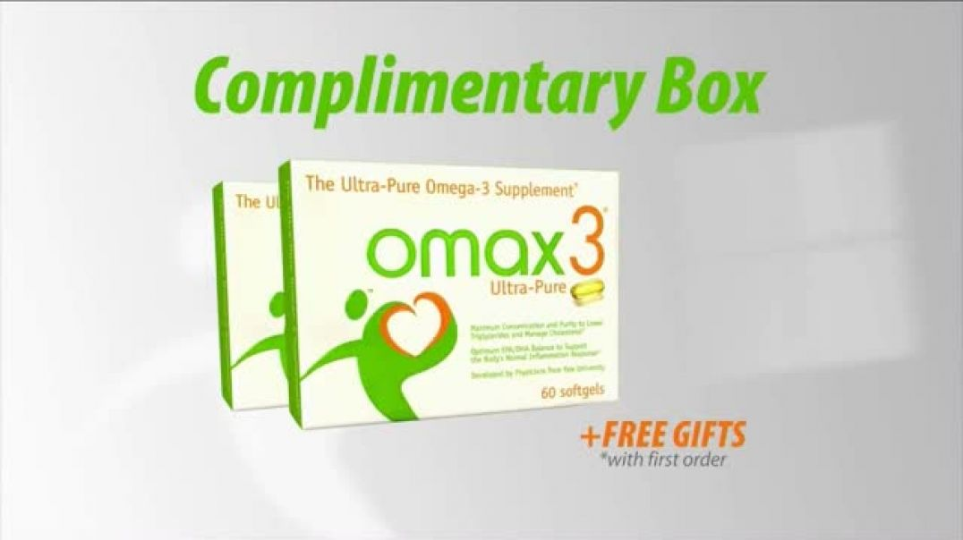 Omax3 UltraPure TV Commercial Ad, Active Lifestyle.mp4