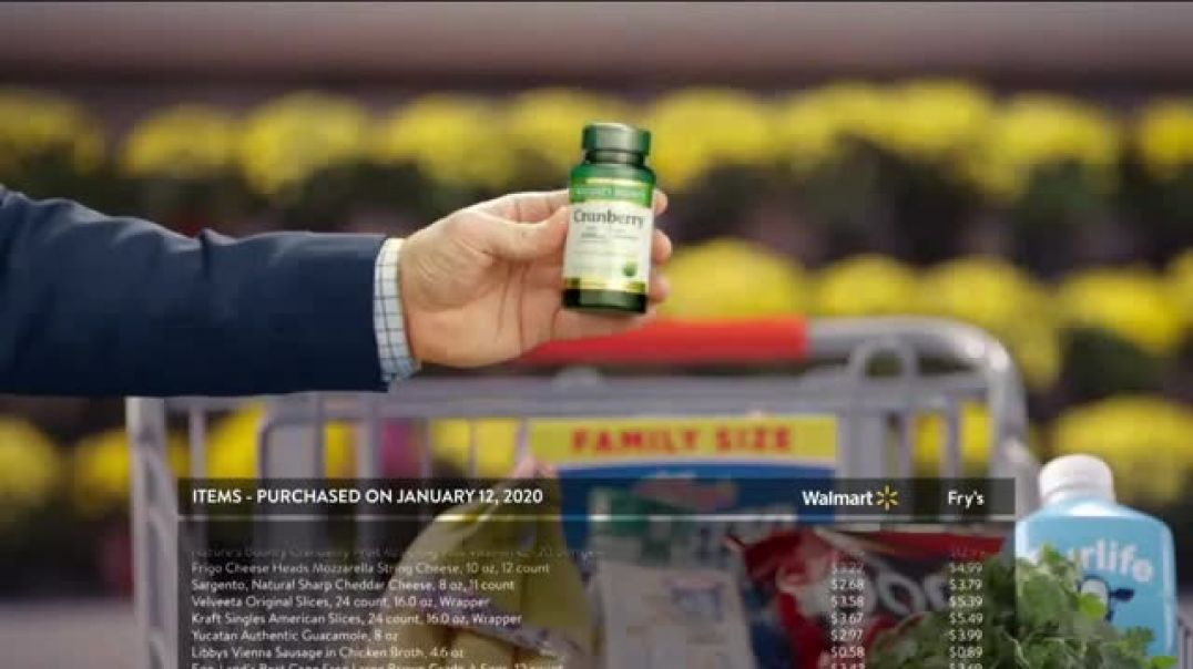 Walmart TV Commercial Ad, Obvious Choice Challenege Cary.mp4