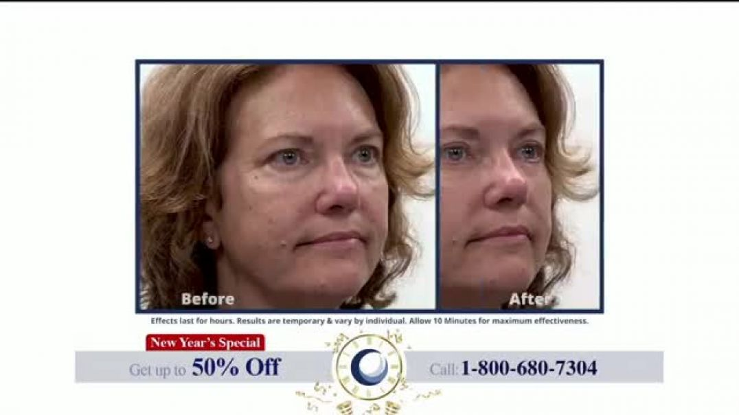 Plexaderm Skincare New Years Special TV Commercial Ad, Ten Minute Challenge 50 Percent Off.mp4