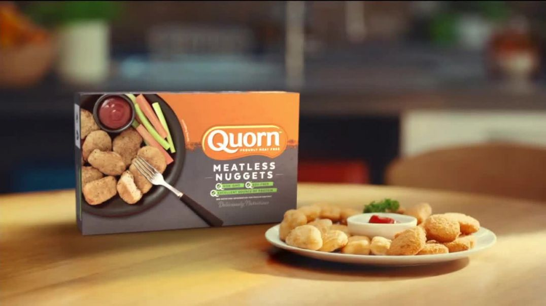 Quorn Meatless Nuggets TV Commercial Ad, Care.mp4
