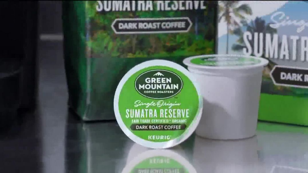 Green Mountain Sumatra Reserve Coffee TV Commercial Ad, The Story.mp4