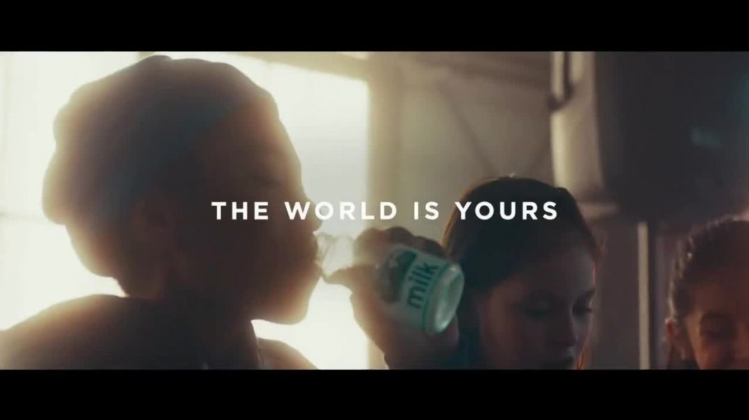 Americas Milk Companies TV Commercial Ad, The World is Yours.mp4