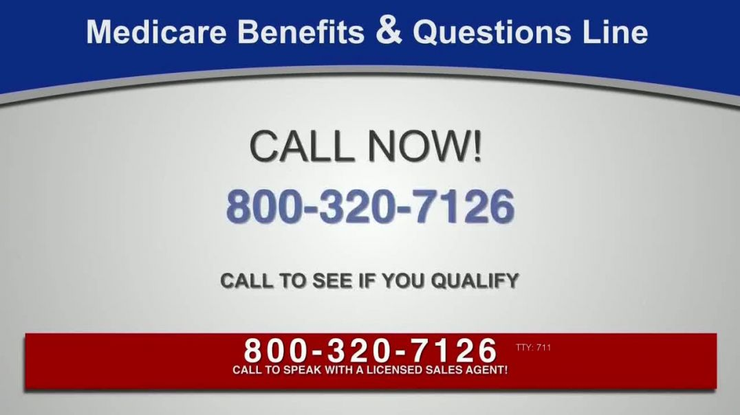 Medicare Benefits & Questions Line TV Commercial Ad, Anyone on Medicare Additional Benef