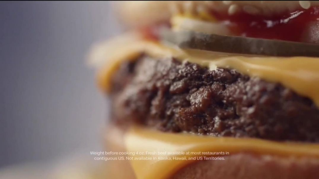McDonalds Quarter Pounder TV Commercial Ad, Perfect Made Perfecter Look Closely.mp4