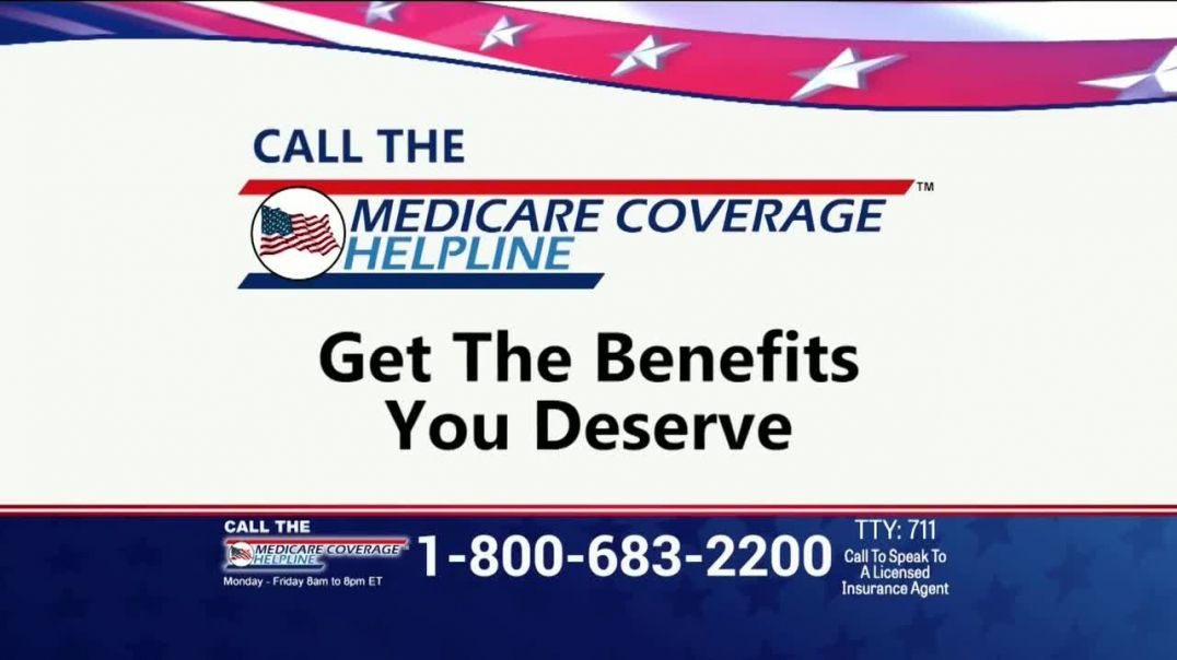 Medicare Coverage Helpline TV Commercial Ad, New Benefits Available Featuring Joe Namath.mp4
