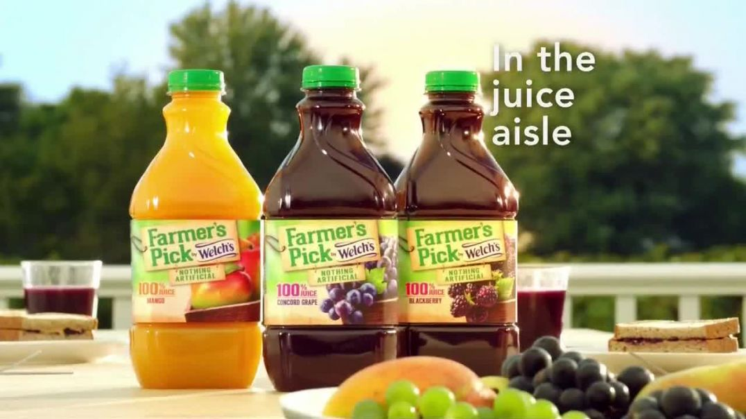 Welchs Farmers Pick TV Commercial Ad, True to the Fruit.mp4
