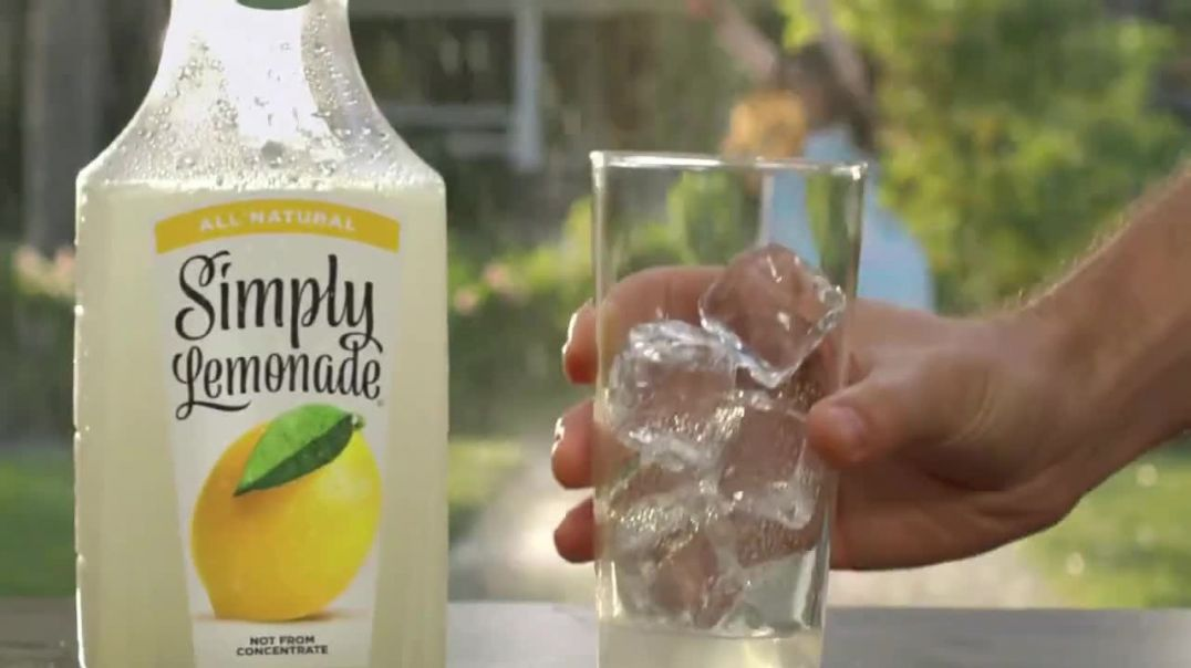 Simply Beverages TV Commercial Ad, Summer Shower.mp4