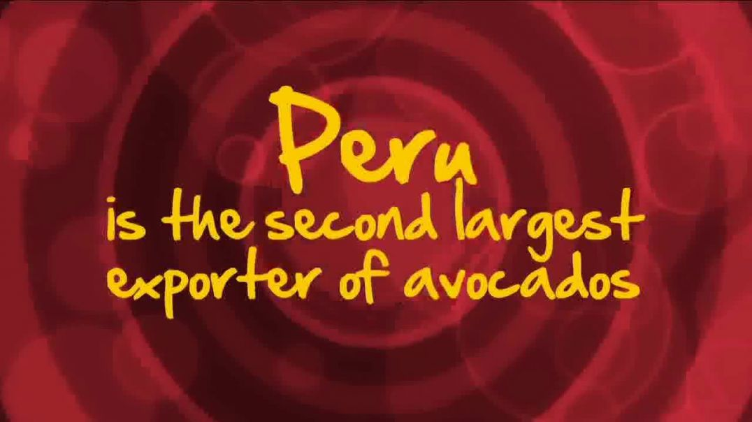 Avocados From Peru TV Commercial Ad, World Avocado Month Second Largest Exporter