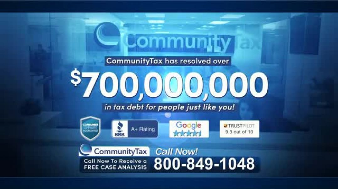 Community Tax TV Commercial Ad, Back Taxes.mp4