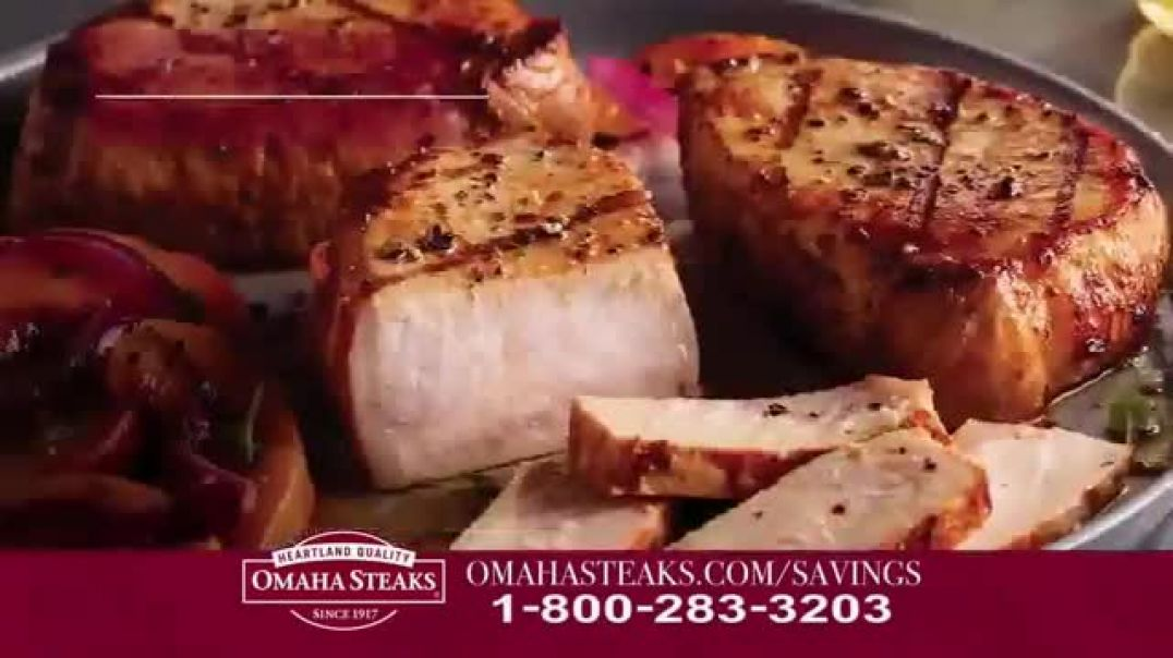 Omaha Steaks Savings Celebration Package TV Commercial Ad, Hooked