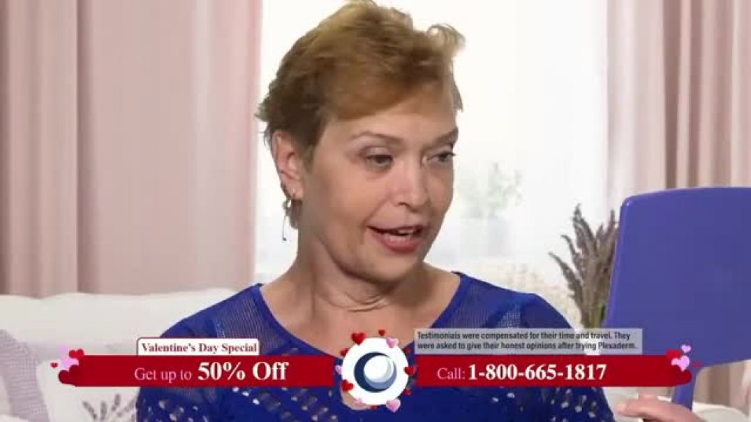 Plexaderm Skincare Valentines Day Special TV Commercial Ad, Face Lift in a Jar 50 Percent Off