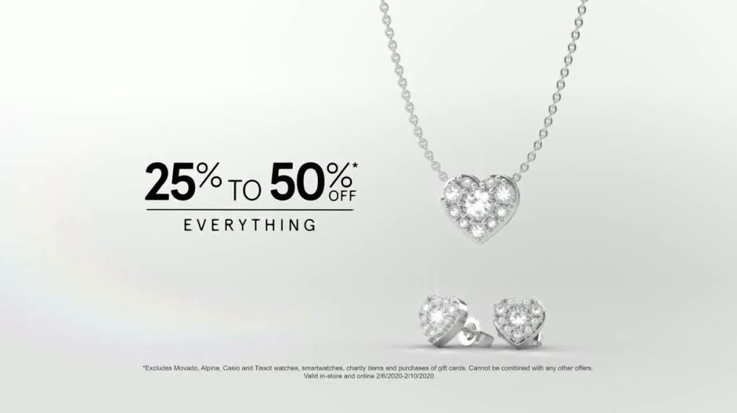 Kay Jewelers Friends & Family Event TV Commercial Ad, Valentines Day Win Her Heart.mp4