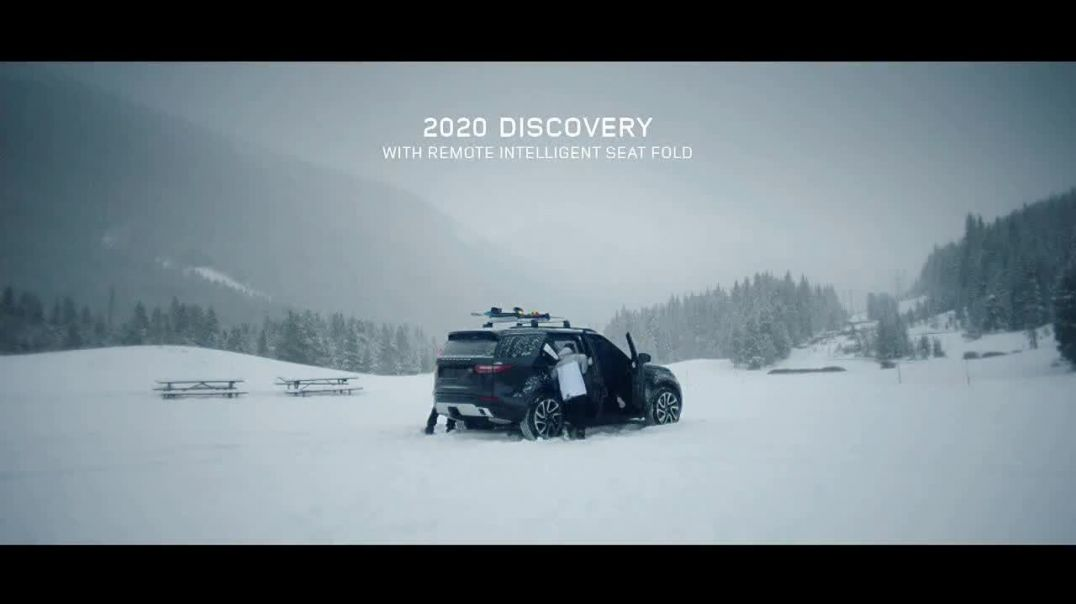 2020 Land Rover Discovery TV Commercial Ad, Play Harder Remote Intelligent Seat Fold Ft. Steven Nyma