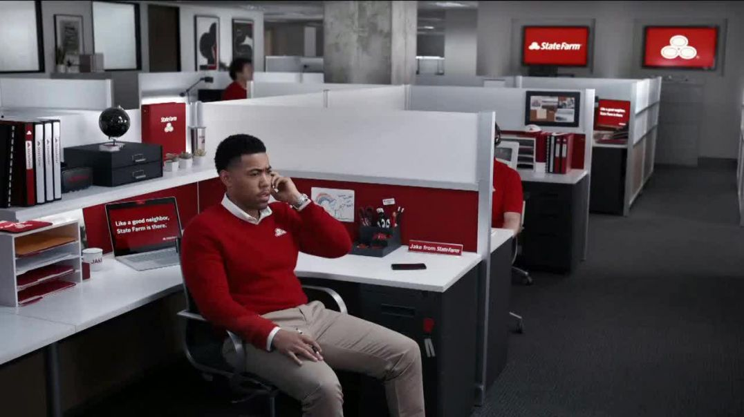 State Farm TV Commercial Ad, Back in the Office.mp4
