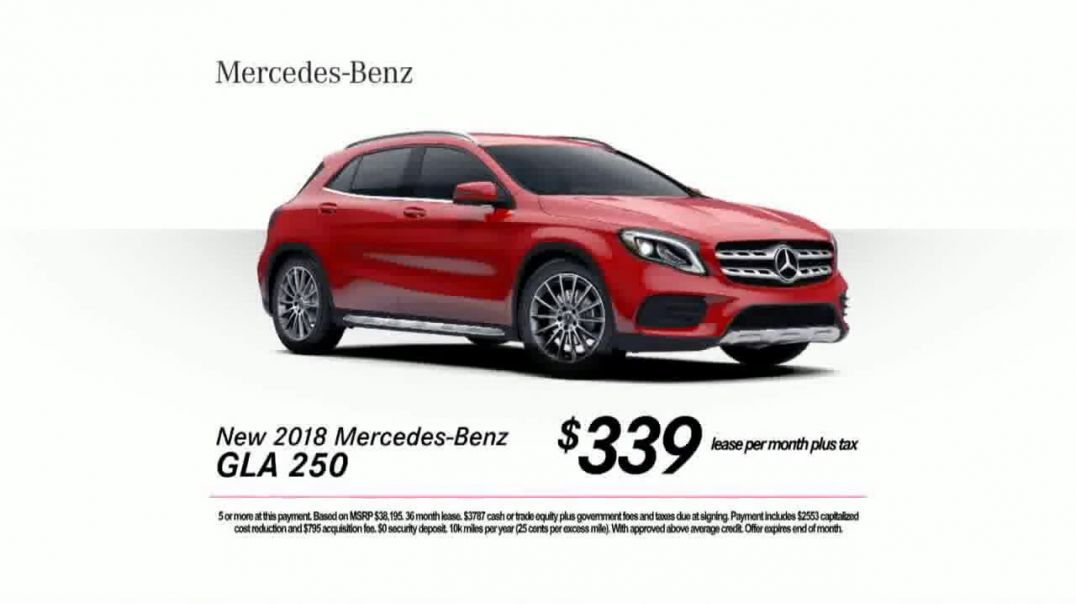 2018 MercedesBenz GLA 250 TV Commercial Ad, Whole New Level