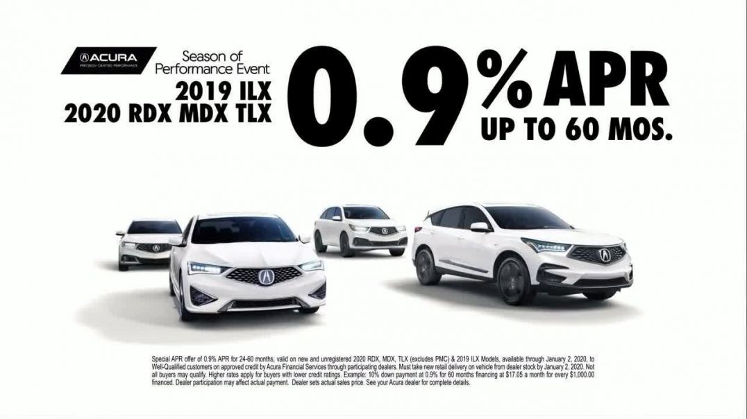 Acura Season of Performance Event TV Commercial Ad, YearEnd Savings Are On.mp4