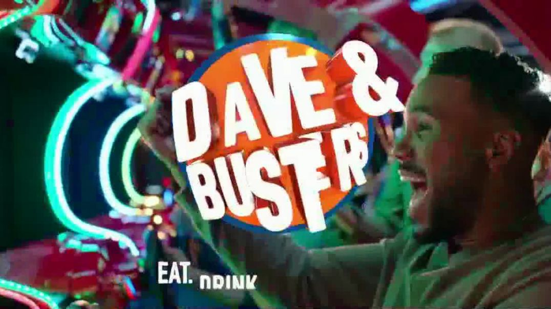 Dave and Busters TV Commercial Ad, The Greatest Deal Ever Play Eight Free