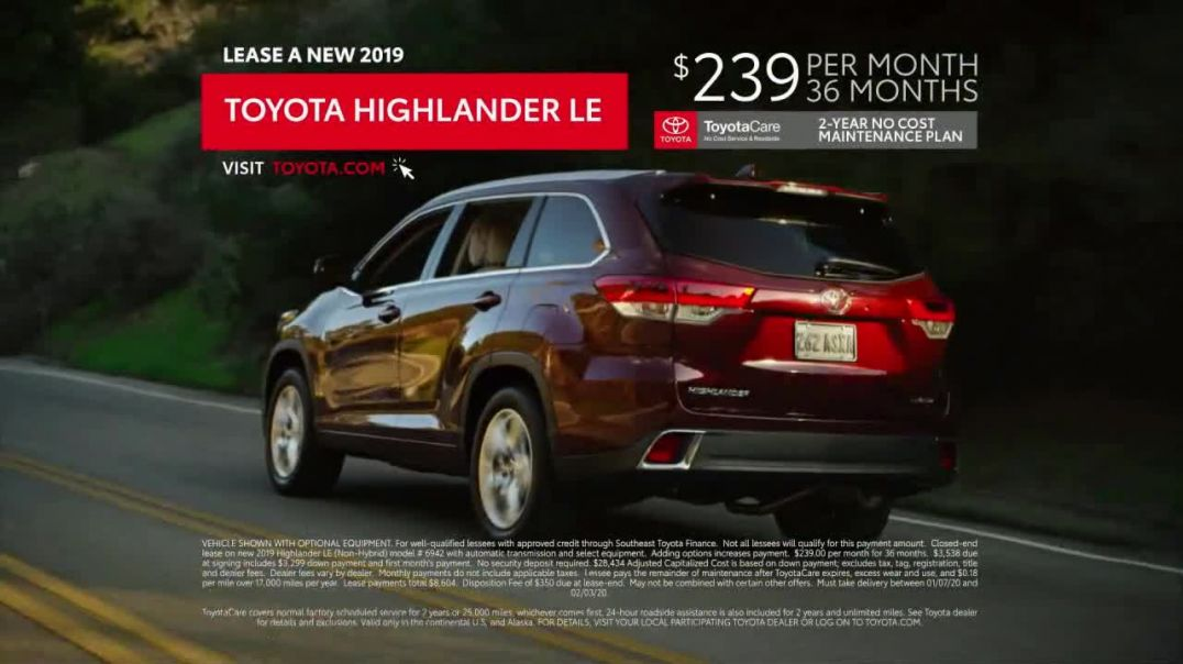 2019 Toyota Highlander TV Commercial Ad, Old Friends.mp4