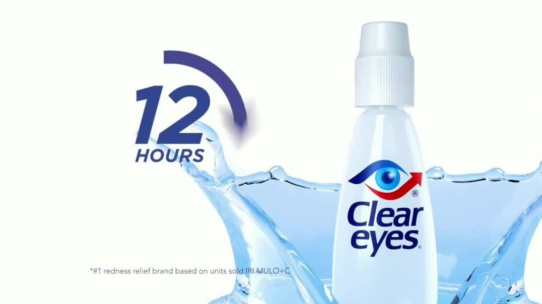Clear Eyes TV Commercial Ad, Transform Your Eyes Featuring Vanessa Williams