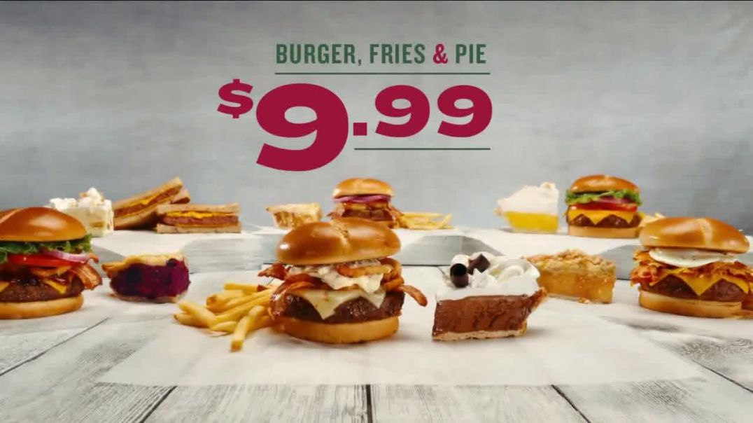 Perkins Restaurant & Bakery Burger, Fries & Pie TV Commercial Ad, Its Back.m