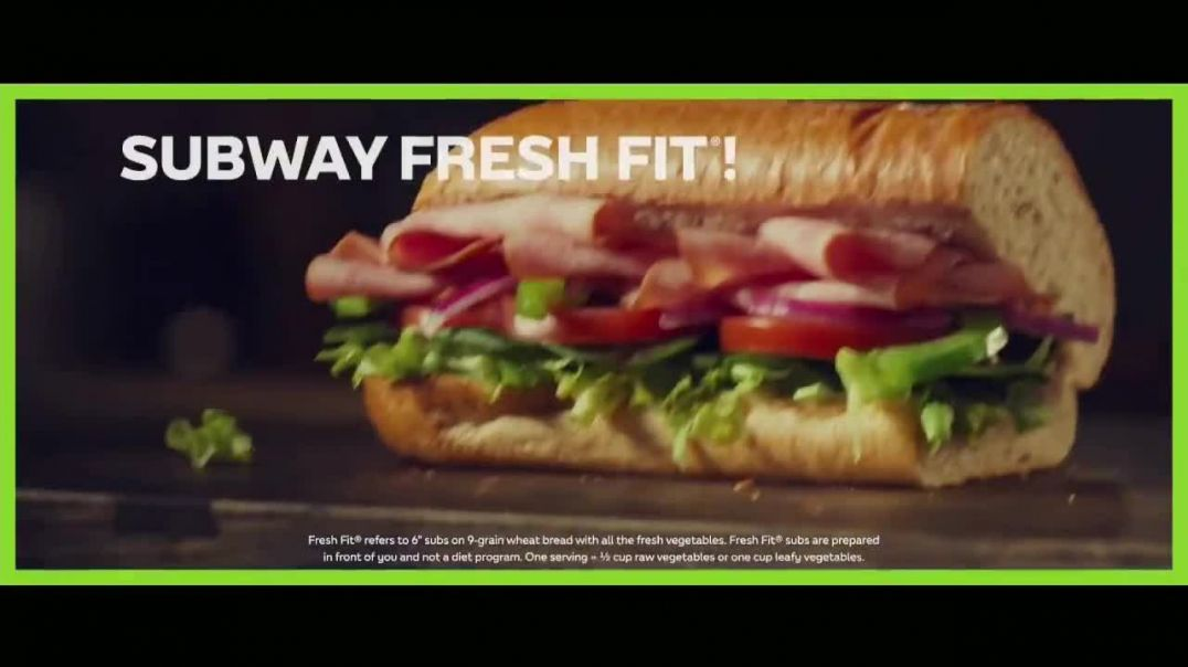 Subway Fresh Fit TV Commercial Ad, Fuel Your Journey Song by Brett Engel.mp4
