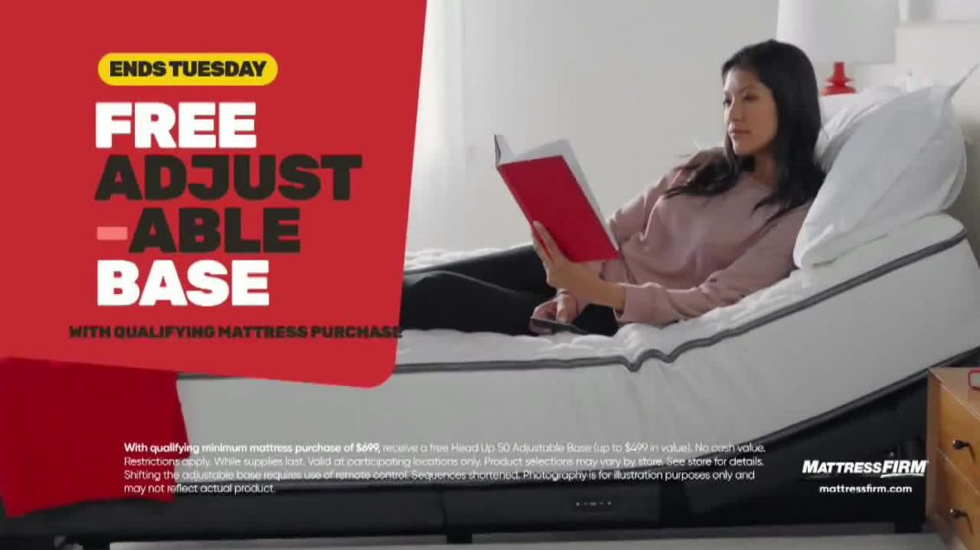 Mattress Firm Year End Sale TV Commercial Ad, Ends Tuesday Serta Perfect Sleeper.mp4