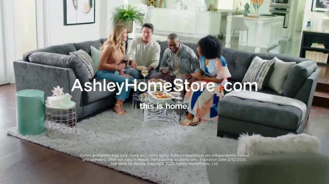 Ashley HomeStore Presidents Day Sale TV Commercial Ad, Havalance Queen Storage Bed Song by Midnight