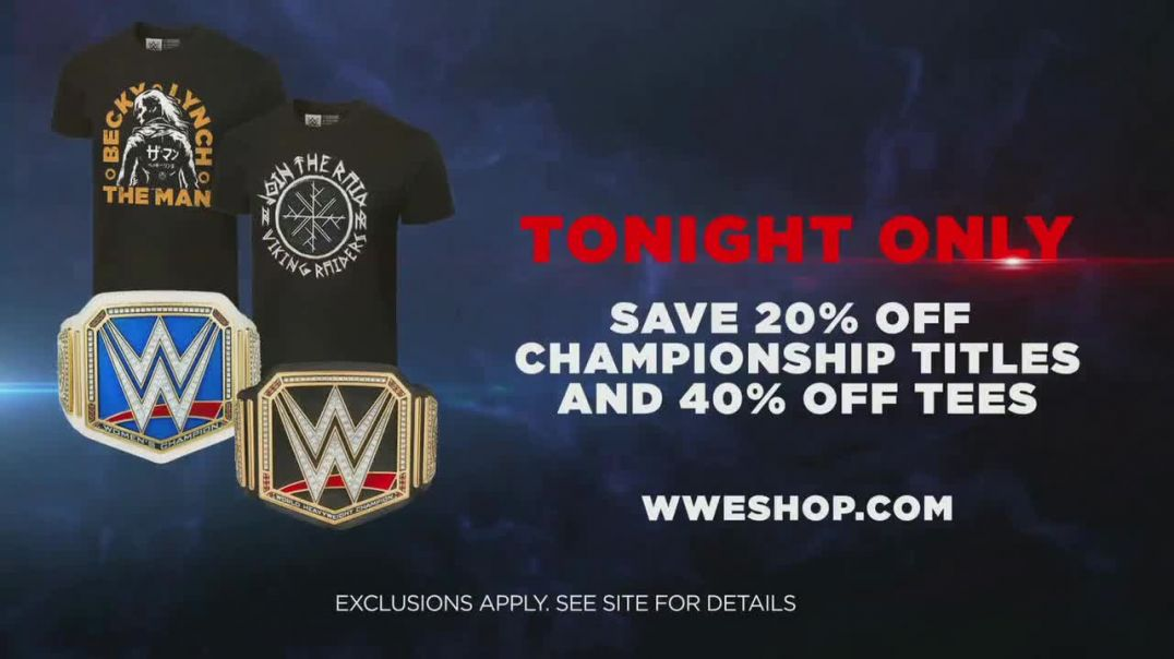 WWE Shop TV Commercial Ad, Join the Universe 20 Percent Off Titles & 40 Percent Off Tees