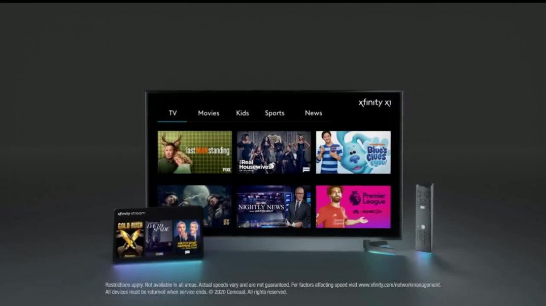 XFINITY TV + Internet TV Commercial Ad, More for Less
