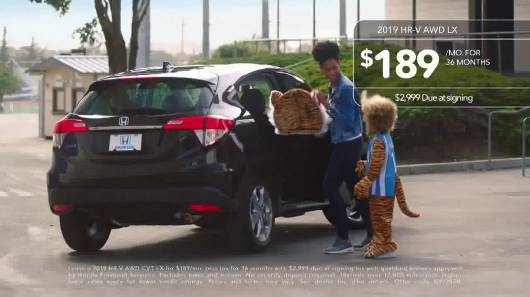 2019 Honda HRV TV Commercial Ad, Winning on the Road [T2]