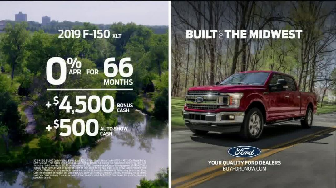 2019 Ford F150 TV Commercial Ad, Built for the Midwest [T2]