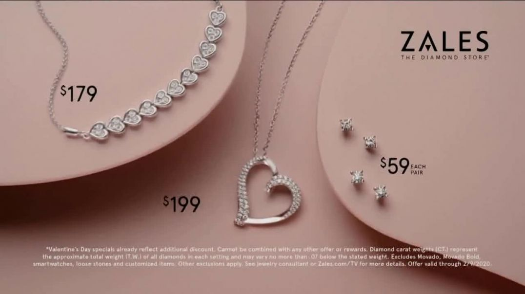 Zales Valentines Day Sale TV Commercial Ad, You Are My Diamond
