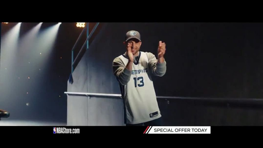 NBA Store TV Commercial Ad, Special Offer Pelicans and Grizzlies Fans