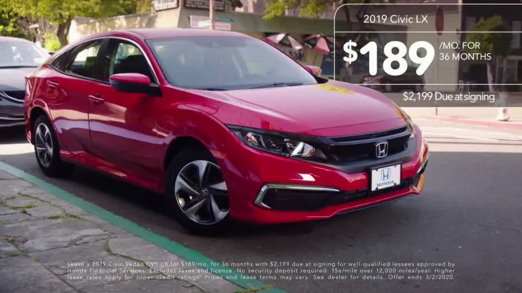 2019 Honda Civic TV Commercial Ad, Neighborhood Pride [T2]