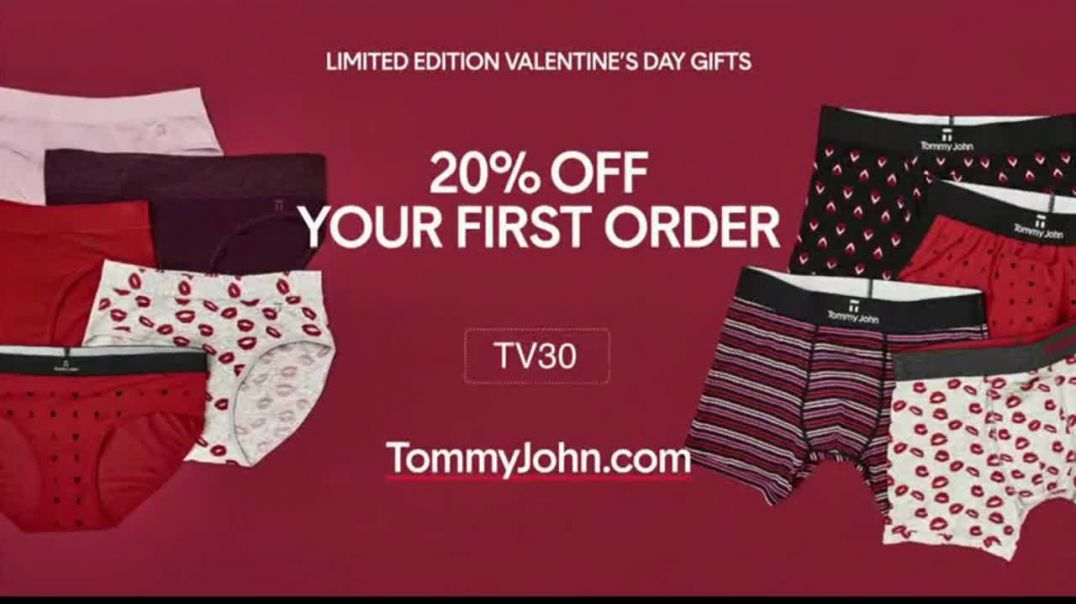Tommy John TV Commercial Ad, Valentines Day Comfortable and Luxurious.mp4