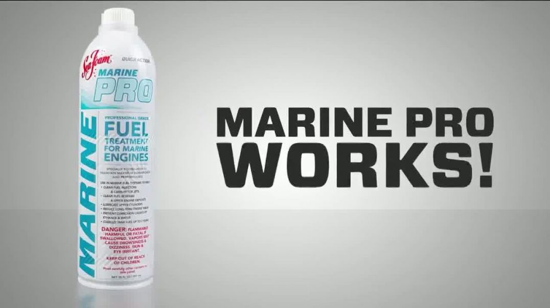 Sea Foam Marine Pro TV Commercial Ad, Everything Todays Boat Owner Wants
