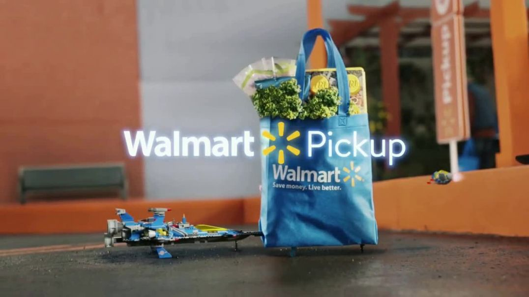 Walmart Grocery Pickup TV Commercial Ad, Famous Visitors LEGO Song by Warrant.mp4
