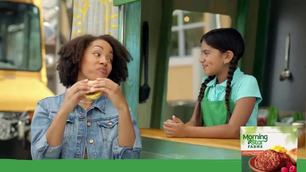 Morningstar Farms TV Commercial Ad, Made From Plants Kid Approved New Look.mp4