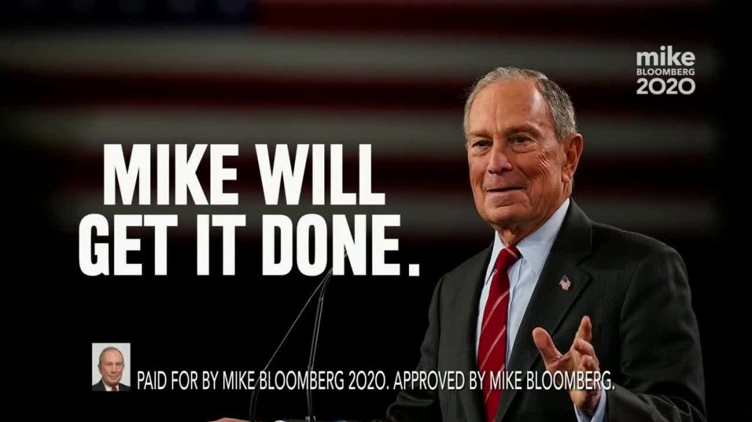 Mike Bloomberg 2020 TV Commercial Ad, The Ring